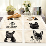 French Bulldog Tisch-Set