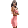 Solid Color Club dress JZ109