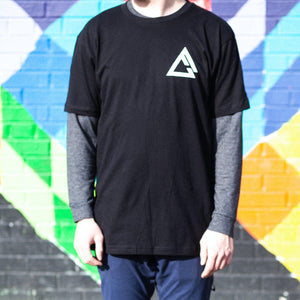 fueled by choice. black OG t-shirt