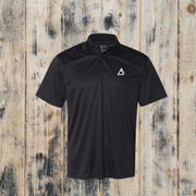 fueled by choice.™ black chest logo dri-fit polo