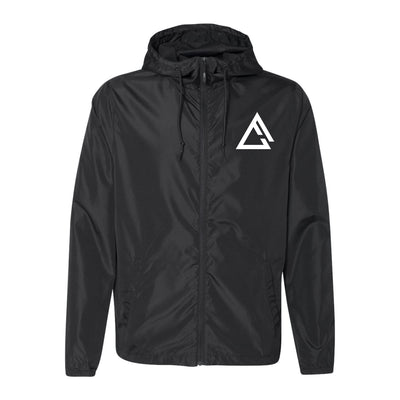fueled by choice.™ unisex lightweight windbreaker black