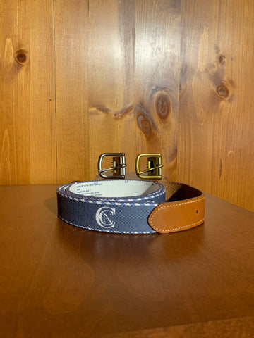 Doc Murphy Custom Cut Belt- Border Stripe