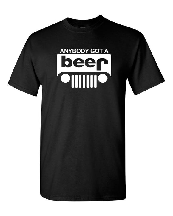 Beer Jeep Funny T-shirt drinking t-shirt party tees