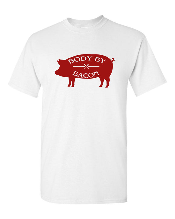 Body By Bacon T-shirt gym t-shirt