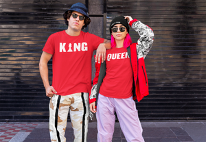 The King and The Queen T-shirt  Couple T-shirt, Valentine t-shirt.