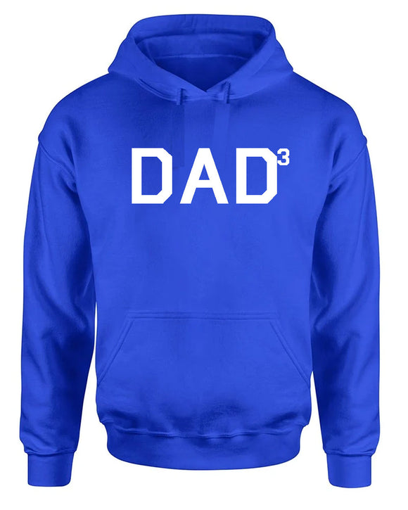 Dad to the third Hoodie father dad Hoodie