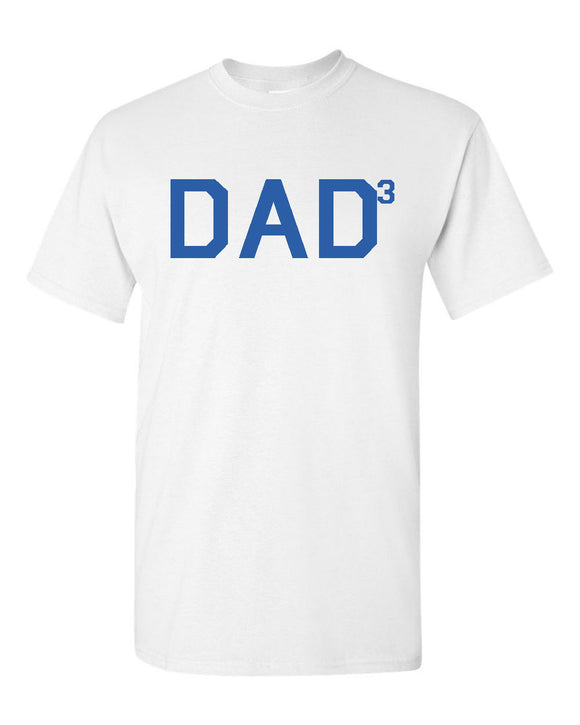 Dad to the third t-shirt father t-shirt dad t-shirt