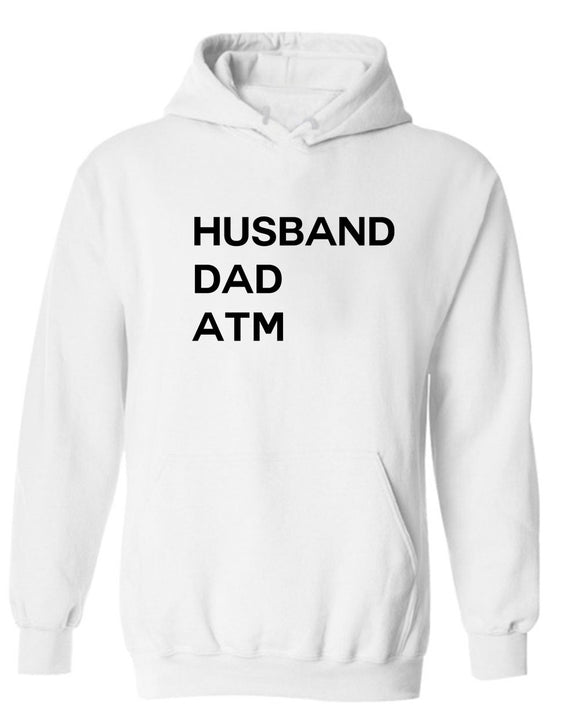 Husband Dad ATM Hoodie funny dad father day Hoodie