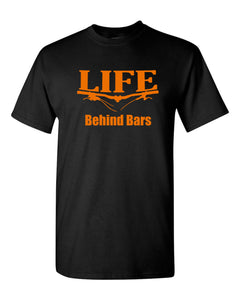 Life Behind Bars T-shirt Mountain Biking T Shirt