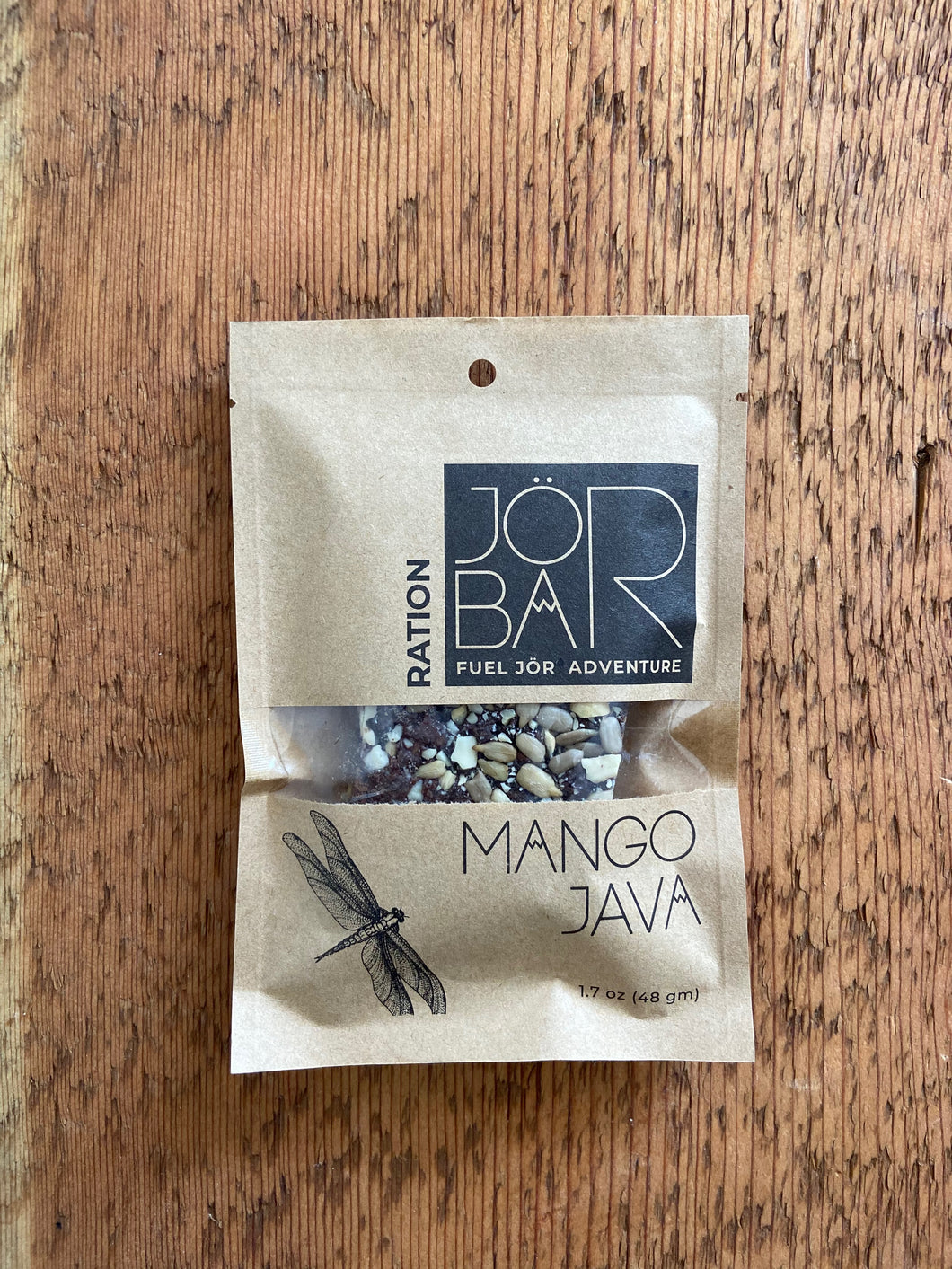 JÖR Mango Java Ration energy bar