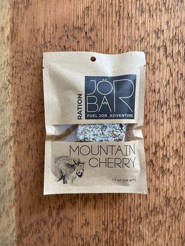 JÖR Mountain Cherry Ration energy bar