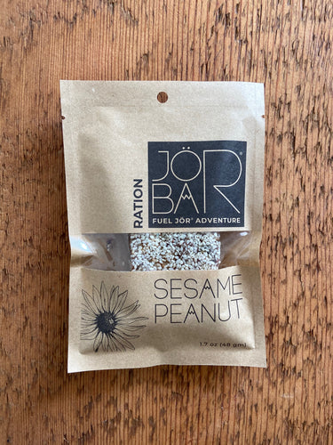 JÖR Sesame Peanut Ration energy bar