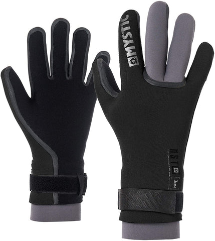 MYSTIC MSTC DRY GLOVES - 3MM DOUBLE CUFF