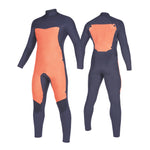MYSTIC STAR FULLSUIT 5/3MM DOUBLE FRONT ZIP BLACK