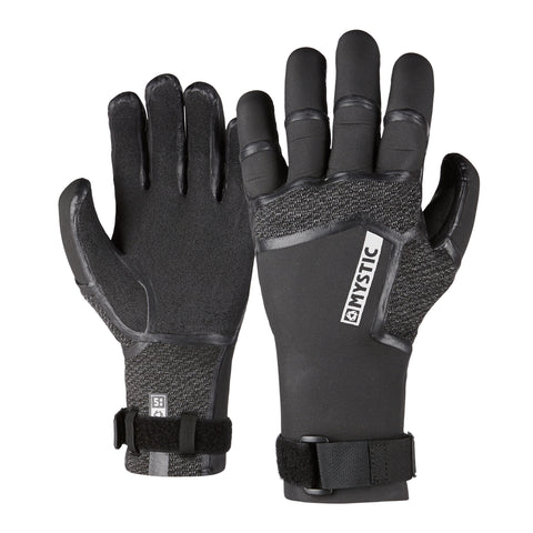 MYSTIC SUPREME GLOVE 5MM PRECURVED BLACK