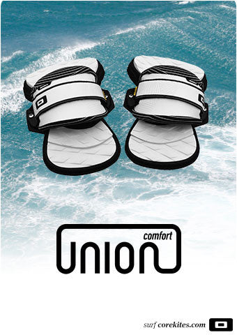 CORE UNION COMFORT PADS AND STRAPS SET