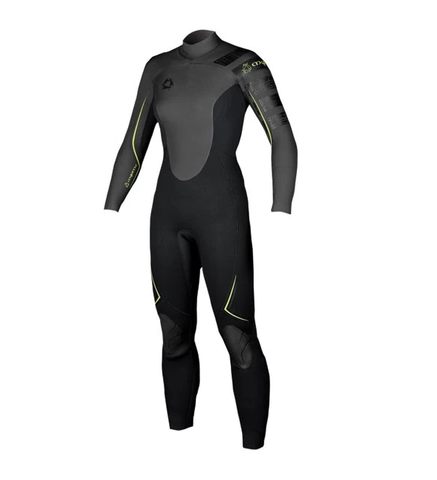 MYSTIC WOMENS HYPNOTIZE 6/3MM BACKZIP WETSUIT