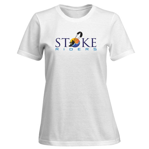 ORIGINAL STOKE RIDERS LOGO WOMEN'S TEE