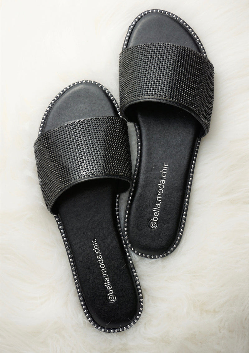 Feeling Luxe Black Sandals