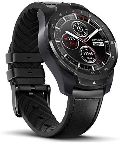 Mobvoi Ticwatch Pro, Smartwatch with Layered Display for Long Battery Life, NFC Payment and GPS Build-in, Wear OS by Google - Eshopping Mantra