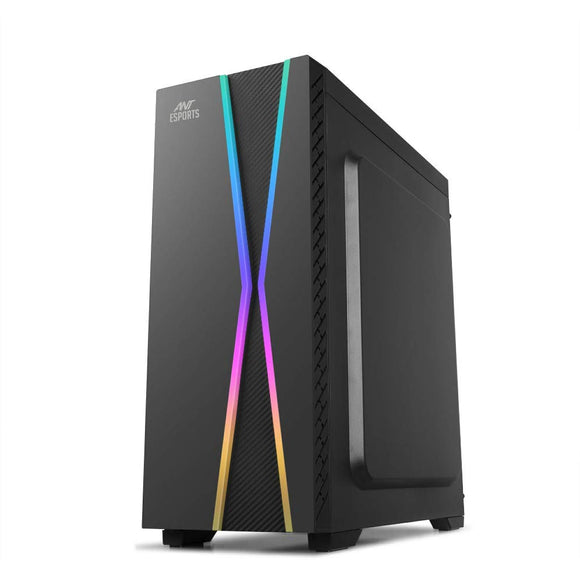 Ant Esports ICE-200TG Mid Tower Gaming Cabinet Computer case