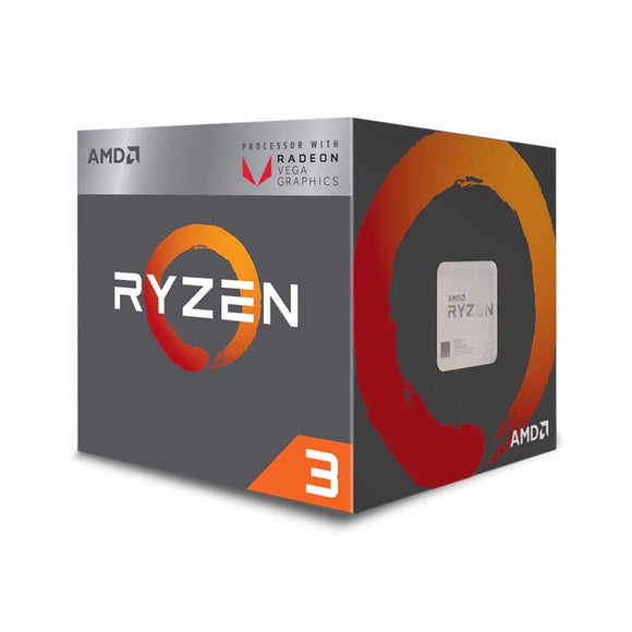 AMD Ryzen 3 2200G with Radeon Vega 8 Graphics Desktop Processor  (YD2200C5FBBOX)