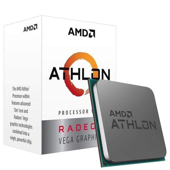 AMD Athlon 3000G with Radeon Vega 3 Graphics  Desktop Processor(YD3000C6FHBOX)