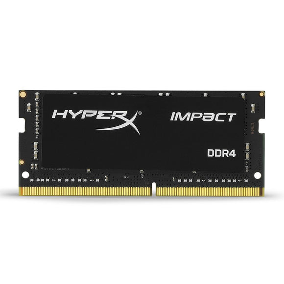 HyperX HX424S14IB2/8 Impact Black 8GB 2400MHz DDR4 Non-ECC CL14 260-pin Unbuffered SODIMM Internal Memory Black - Eshopping Mantra