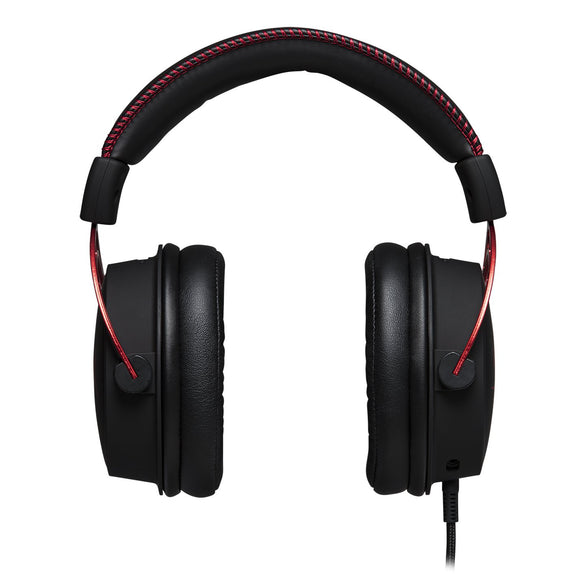 HyperX Cloud Alpha Gaming Headset - Dual Chamber Drivers Detachable Microphone - Eshopping Mantra