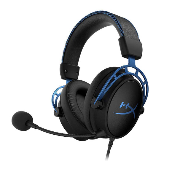 HyperX Cloud Alpha S - Gaming Headset (blue) ( HX-HSCAS-BL/WW ) - Eshopping Mantra
