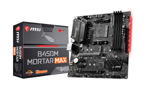 MSI B450M Mortar MAX Gaming Motherboard - Eshopping Mantra
