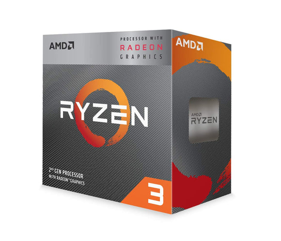 AMD Ryzen 3 3200G with RadeonVega 8 Graphics | Desktop Processor | 4 Cores up to 4GHz 6MB Cache | AM4 Socket - Eshopping Mantra