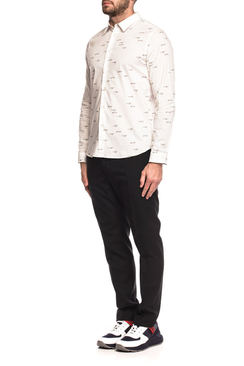 Camasa slim fit cu imprimeu Paul Smith