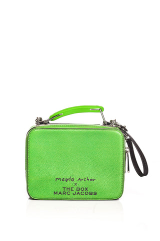 Geanta de piele Magda Archer X The Mini Box Marc Jacobs