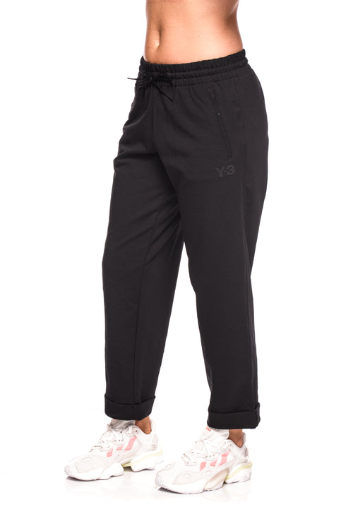 Pantaloni sport negri Cl Turn Up Track Y-3