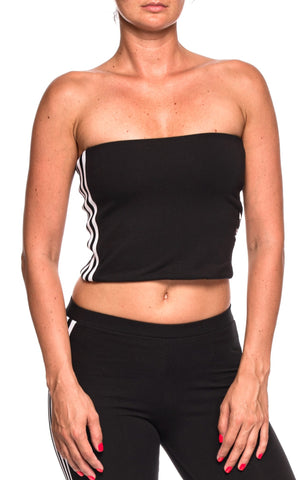 Top negru Tube Adidas Originals