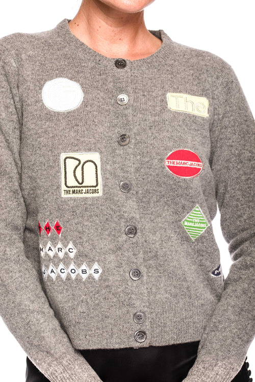 Cardigan The Embroidered Marc Jacobs