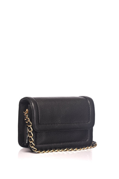 Geanta neagra The Mini Cushion Marc Jacobs