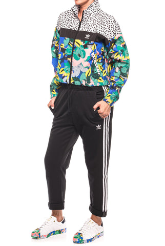 Jacheta cu imprimeu multicolor Windbreaker Adidas Originals