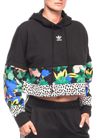 Hanorac Cropped Hoodie Adidas Originals