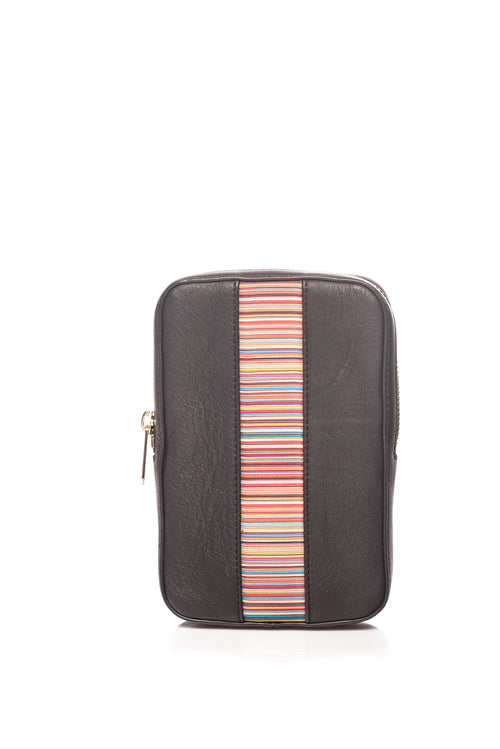 Geanta de piele Signature Stripe Neck Pouch Paul Smith