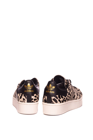 Pantofi sport cu animal print Superstar Bold Adidas Originals