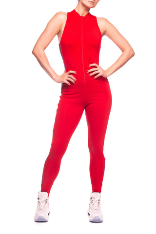 Salopeta sport Stage Suit Scarlet Adidas Originals