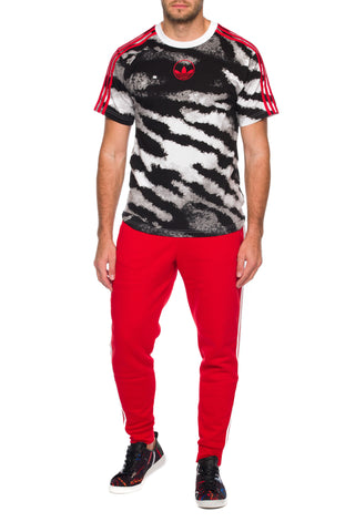 Tricou Zebra Allover Print Adidas Originals
