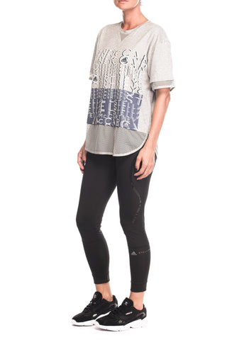 Tricou Athletics Logo Adidas Stella McCartney
