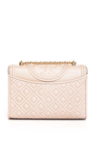 Geanta de piele Fleming Small Shoulder Tory Burch