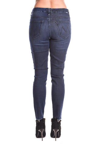 Jeans High Waisted Looker Ankle Fray Mother Denim