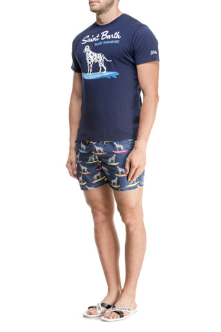 Tricou Surf Dalmi MC2 Saint Barth