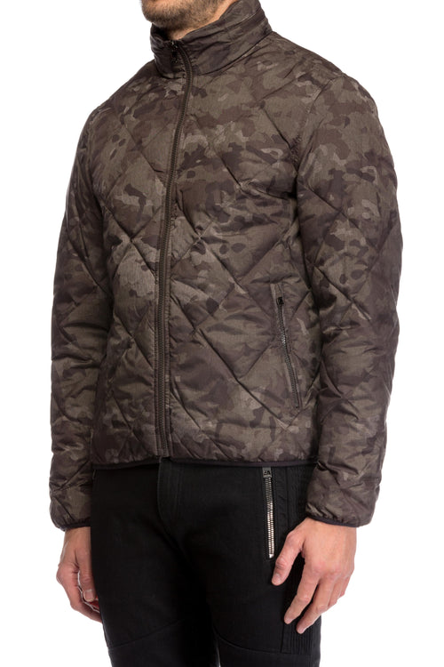 Jacheta Camouflage Quilted Michael Michael Kors