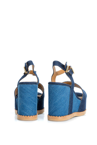 Sandale din denim See by Chloe